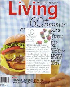 Martha Stewart's Living 10 feel Good Things