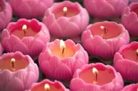 lotus candles