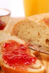 food bread jelly jam