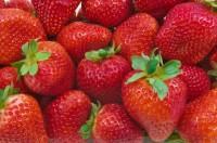 food fruit strawberries