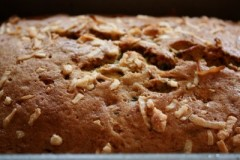 Wholegrain Banana Bread with Flax Seeds