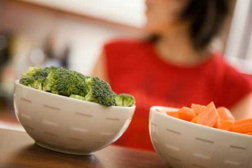 vegetables broccoli carrots