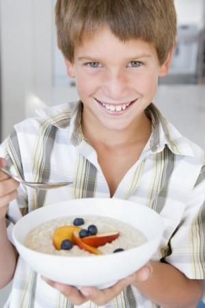 child breakfast