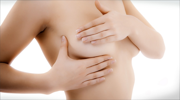 How to perform a monthly breast self-exam