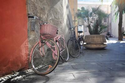 bike in street
