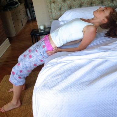 morning yoga while you 'snooze' a ten minute journey to