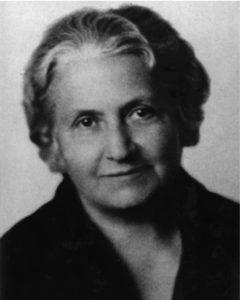 Photo of Maria Montessori