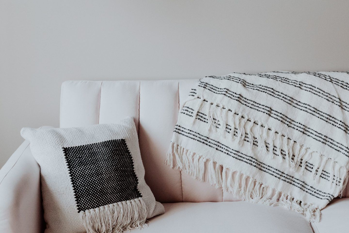 comfy couch to practice mindfulness on