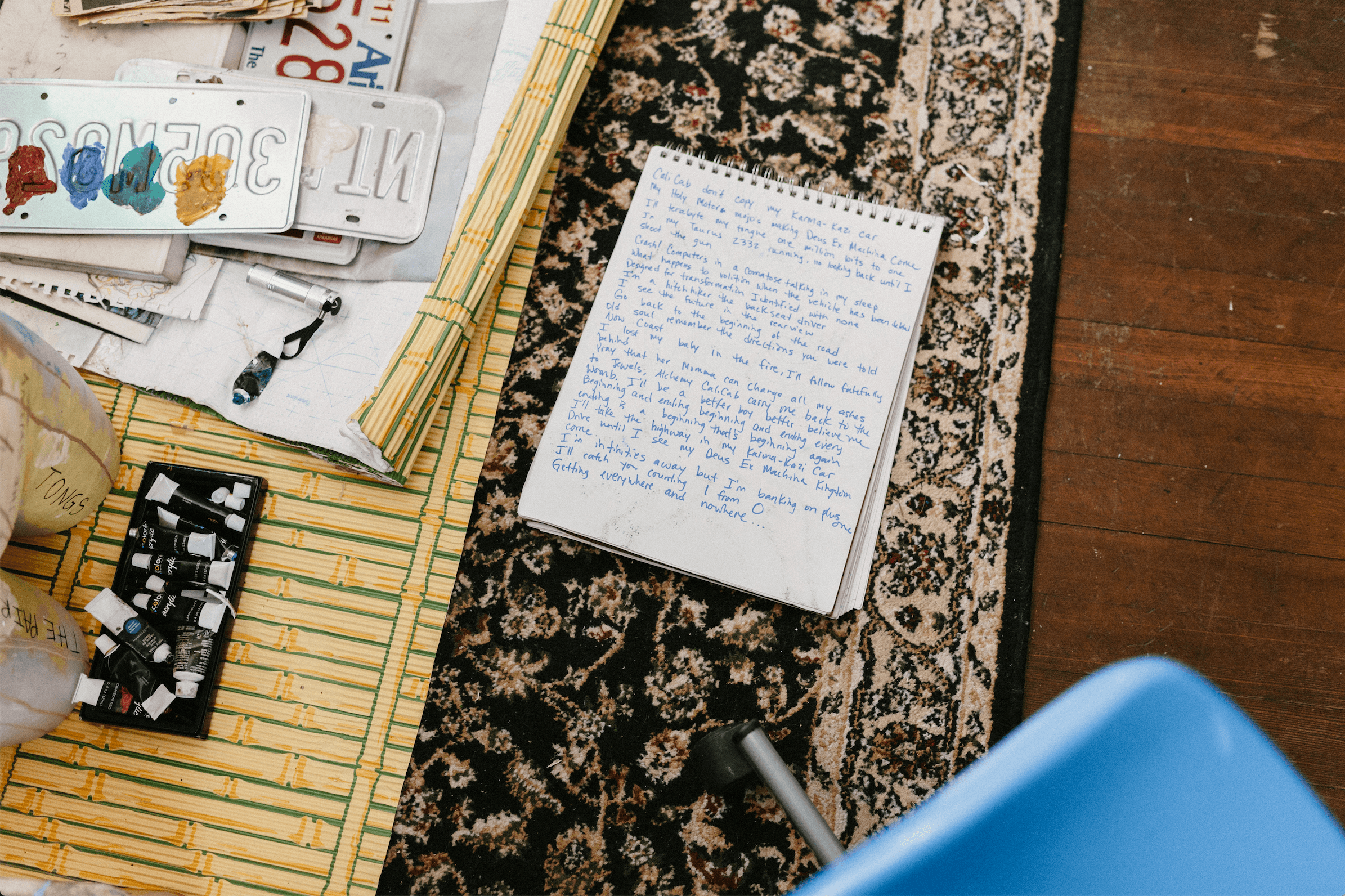 Journalling as a way of restoring peace and decreasing anxiety